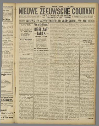Nieuwe Zeeuwsche Courant 1925-06-11