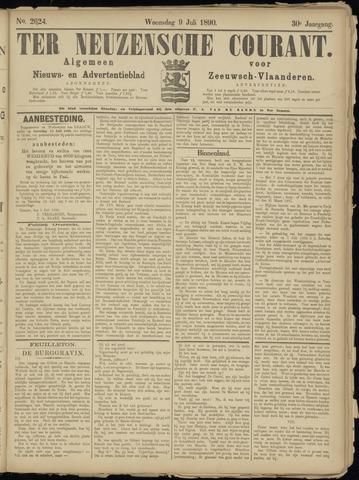 Ter Neuzensche Courant. Algemeen Nieuws- en Advertentieblad voor Zeeuwsch-Vlaanderen / Neuzensche Courant ... (idem) / (Algemeen) nieuws en advertentieblad voor Zeeuwsch-Vlaanderen 1890-07-09