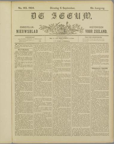 De Zeeuw. Christelijk-historisch nieuwsblad voor Zeeland 1904-09-06