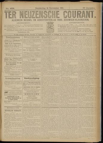Ter Neuzensche Courant. Algemeen Nieuws- en Advertentieblad voor Zeeuwsch-Vlaanderen / Neuzensche Courant ... (idem) / (Algemeen) nieuws en advertentieblad voor Zeeuwsch-Vlaanderen 1916-11-16
