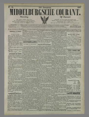Middelburgsche Courant 1891-01-26