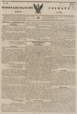 Middelburgsche Courant 1843-06-13