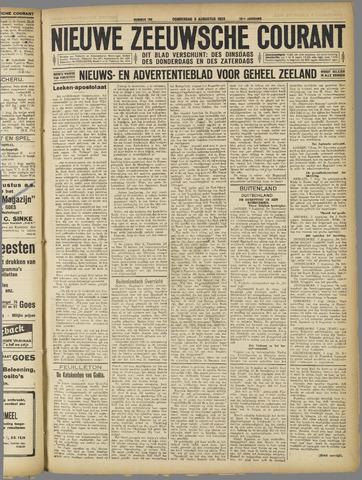 Nieuwe Zeeuwsche Courant 1923-08-09