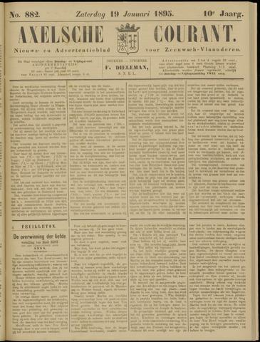 Axelsche Courant 1895-01-19