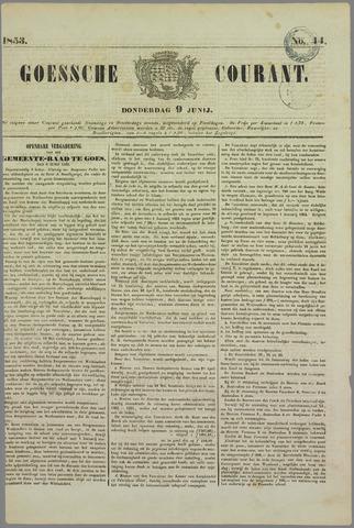 Goessche Courant 1853-06-09