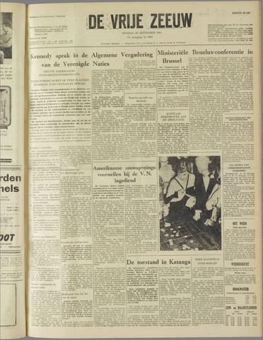 de Vrije Zeeuw 1961-09-26