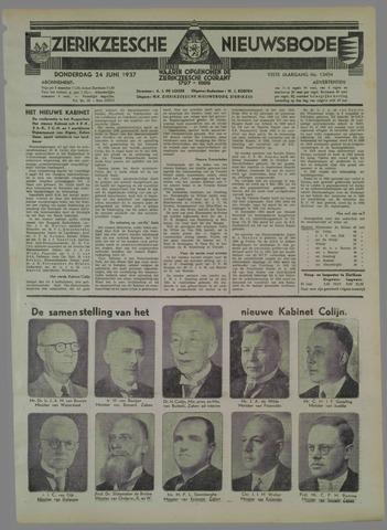 Zierikzeesche Nieuwsbode 1937-06-24