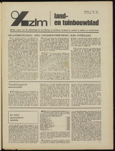 Zeeuwsch landbouwblad ... ZLM land- en tuinbouwblad 1972-06-16