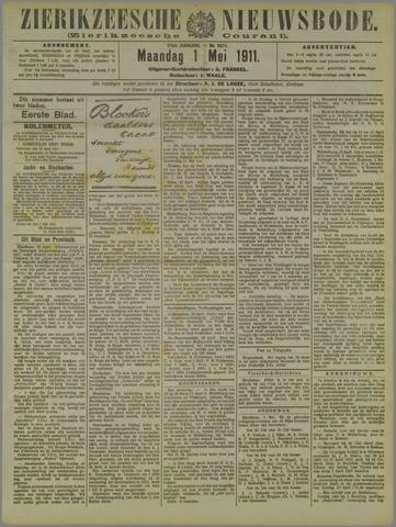 Zierikzeesche Nieuwsbode 1911-05-01