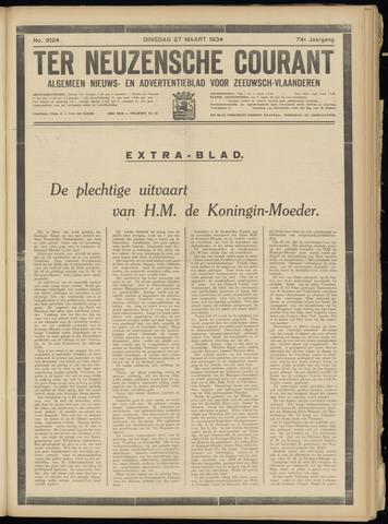 Ter Neuzensche Courant. Algemeen Nieuws- en Advertentieblad voor Zeeuwsch-Vlaanderen / Neuzensche Courant ... (idem) / (Algemeen) nieuws en advertentieblad voor Zeeuwsch-Vlaanderen 1934-03-27