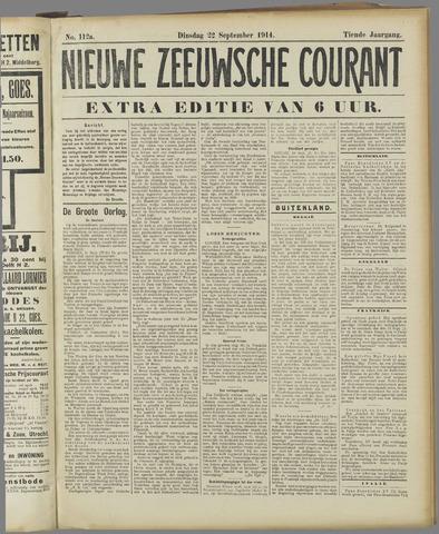 Nieuwe Zeeuwsche Courant 1914-09-22