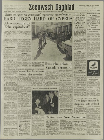 Zeeuwsch Dagblad 1958-11-10