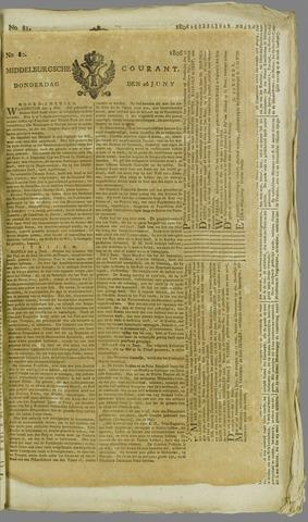 Middelburgsche Courant 1806-06-26