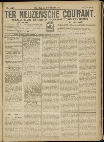 Ter Neuzensche Courant. Algemeen Nieuws- en Advertentieblad voor Zeeuwsch-Vlaanderen / Neuzensche Courant ... (idem) / (Algemeen) nieuws en advertentieblad voor Zeeuwsch-Vlaanderen 1915-11-30