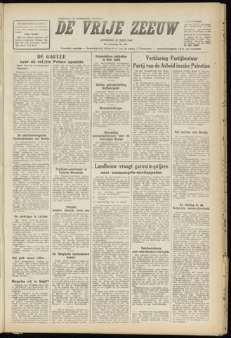 de Vrije Zeeuw 1948-06-22