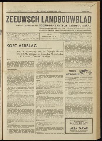 Zeeuwsch landbouwblad ... ZLM land- en tuinbouwblad 1952-09-20