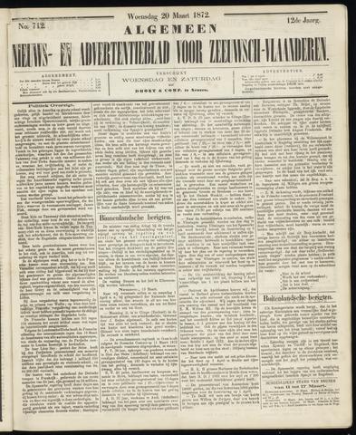 Ter Neuzensche Courant. Algemeen Nieuws- en Advertentieblad voor Zeeuwsch-Vlaanderen / Neuzensche Courant ... (idem) / (Algemeen) nieuws en advertentieblad voor Zeeuwsch-Vlaanderen 1872-03-20