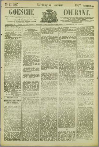 Goessche Courant 1915-01-30