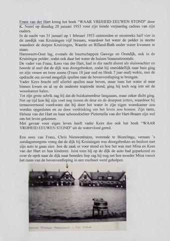 Watersnood documentatie 1953 - diversen 2001-04-15