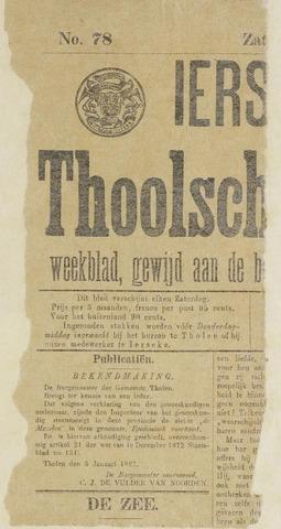 Ierseksche en Thoolsche Courant 1887-01-08