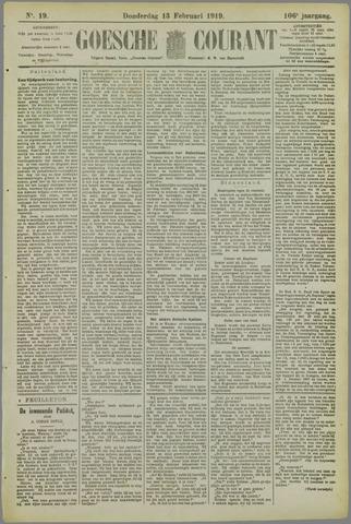 Goessche Courant 1919-02-13