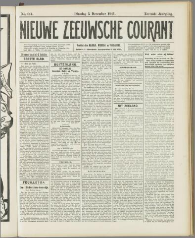 Nieuwe Zeeuwsche Courant 1911-12-05