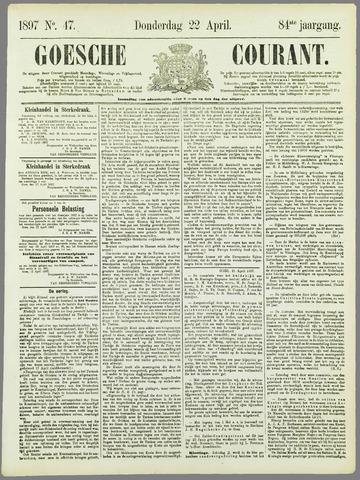 Goessche Courant 1897-04-22