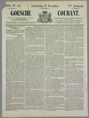 Goessche Courant 1884-12-11