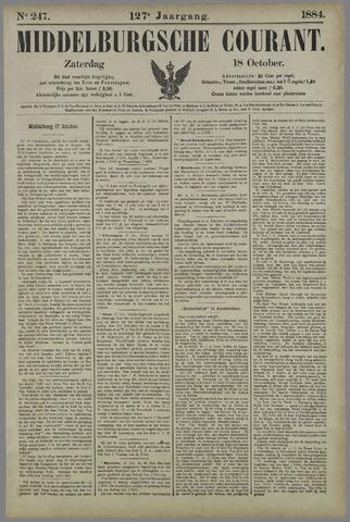 Middelburgsche Courant 1884-10-18