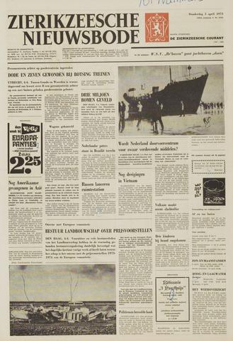 Zierikzeesche Nieuwsbode 1973-04-05