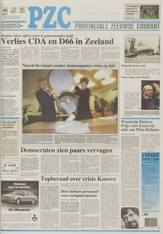 Provinciale Zeeuwse Courant 1998-03-05