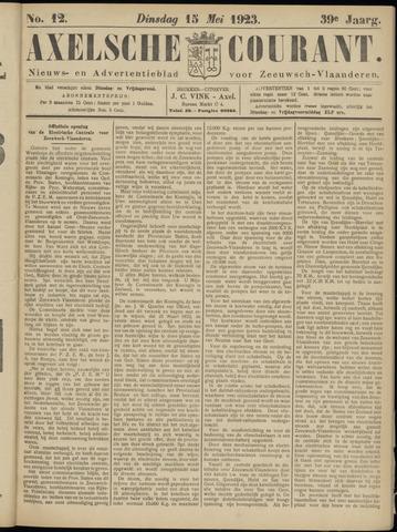 Axelsche Courant 1923-05-15