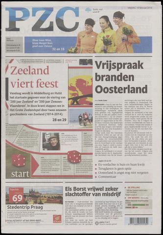 Provinciale Zeeuwse Courant 2014-02-14