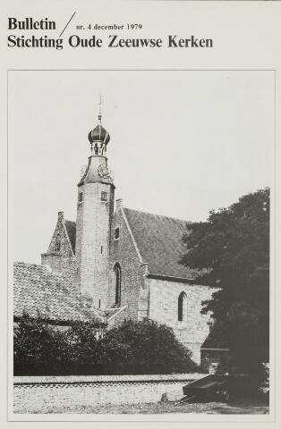 Bulletin Stichting Oude Zeeuwse kerken 1979-12-01