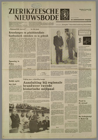 Zierikzeesche Nieuwsbode 1981-01-19