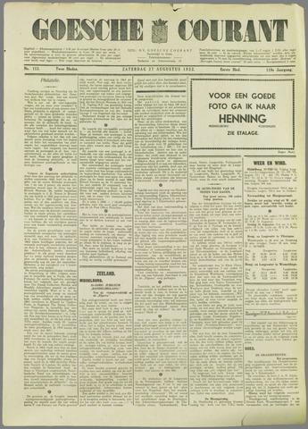 Goessche Courant 1932-08-27