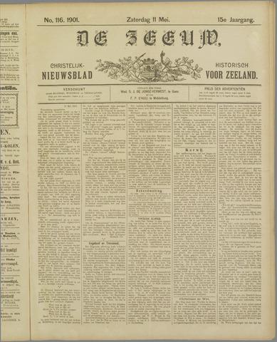 De Zeeuw. Christelijk-historisch nieuwsblad voor Zeeland 1901-05-11