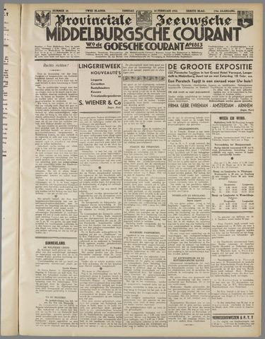 Middelburgsche Courant 1933-02-14