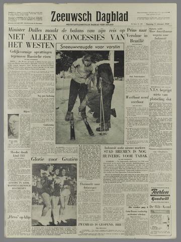 Zeeuwsch Dagblad 1959-02-09