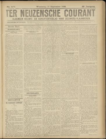 Ter Neuzensche Courant. Algemeen Nieuws- en Advertentieblad voor Zeeuwsch-Vlaanderen / Neuzensche Courant ... (idem) / (Algemeen) nieuws en advertentieblad voor Zeeuwsch-Vlaanderen 1928-09-19