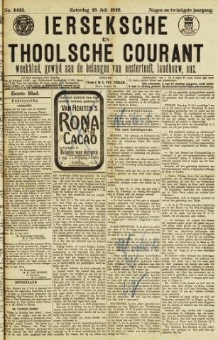 Ierseksche en Thoolsche Courant 1912-07-13