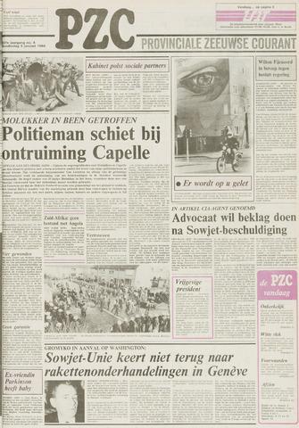 Provinciale Zeeuwse Courant 1984-01-05