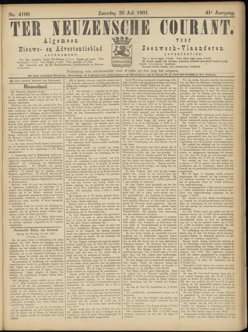 Ter Neuzensche Courant. Algemeen Nieuws- en Advertentieblad voor Zeeuwsch-Vlaanderen / Neuzensche Courant ... (idem) / (Algemeen) nieuws en advertentieblad voor Zeeuwsch-Vlaanderen 1901-07-20