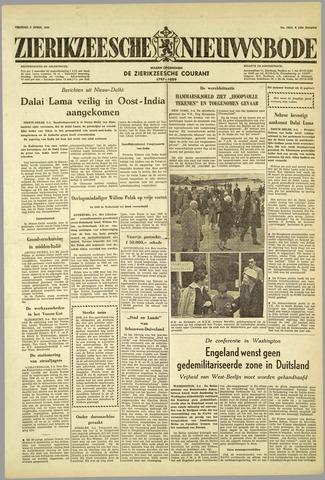 Zierikzeesche Nieuwsbode 1959-04-03