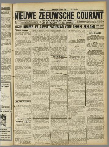 Nieuwe Zeeuwsche Courant 1927-04-21