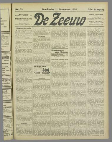 De Zeeuw. Christelijk-historisch nieuwsblad voor Zeeland 1924-12-11