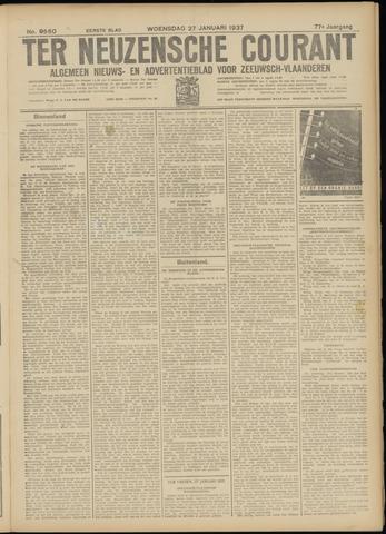 Ter Neuzensche Courant. Algemeen Nieuws- en Advertentieblad voor Zeeuwsch-Vlaanderen / Neuzensche Courant ... (idem) / (Algemeen) nieuws en advertentieblad voor Zeeuwsch-Vlaanderen 1937-01-27