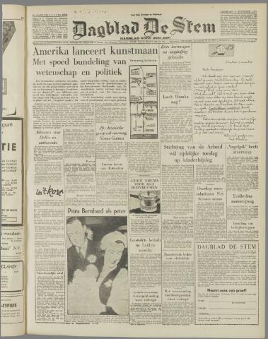 de Stem 1957-11-09