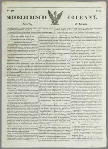 Middelburgsche Courant 1859-01-22