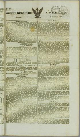 Middelburgsche Courant 1837-02-07